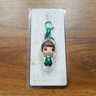 Starbucks Girl Barista keychain