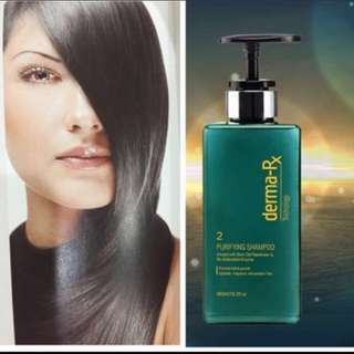 😙RESTOCKED DUE TO POPULAR DEMAND!!!😙🙆🏻GROW HAIR, GROW!!!【UGRADE YOUR HAIR CARE TO TRICHOLOGIST HAIR PRODUCTS FOR HEALTHY HAIR GROWTH!! 】【GET THICKER FULLER HAIR!!! 】💚FULL SIZE💚  ✨Drx Trichology Purifying Shampoo (480ml)✨