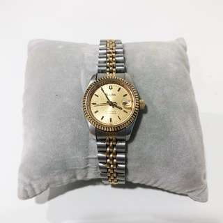 Bulova Automatic Vintage two toned watch