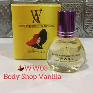 WW03 Body Shop Vanilla.