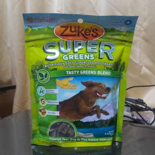 Zuke's Super Greens Soft Dog Treats (170g)