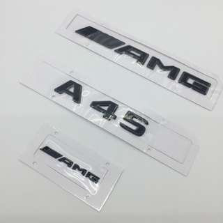 MBZ 2017  ///AMG  Model Numbers  for A45, CLA45, C63, GLC43  A set of 3 pcs