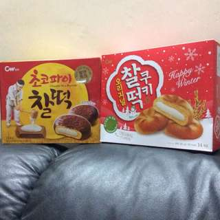韓國年糕餅 14個