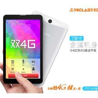 Teclast 台電科技 P70 7吋 雙卡 4G 香港版 行貨保養
