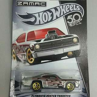HW ZAMAC 50th PLYMOUTH DUSTER THRUSTER