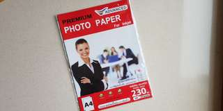 A4 230gsm Photo Papers (9 pieces)