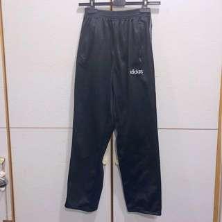 Adidas 排扣 運動褲 寬褲