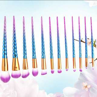 12 Pcs Unicorn Brushes