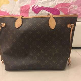 100% ORIGINAL LV Neverfull MM