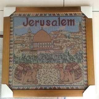 Pajangan Tenun Dari Yerusalem