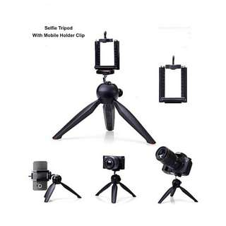Mini Folding Handheld Portable Selfie Vlog Video Photo Tripod Monopod for DSLR Camera GoPro DVR / Mobile Phone Hand phone holder iPhone 228