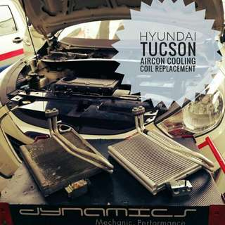 Hyundai Tucson : Cooling_Coil Replacement