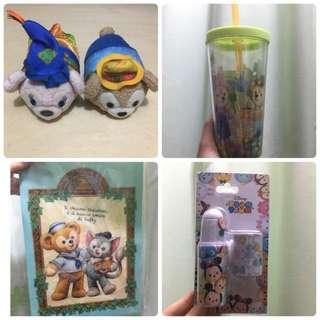 Disney items set 迪士尼 福袋
