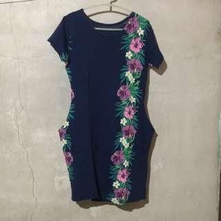 Floral Blue Dress ‼️