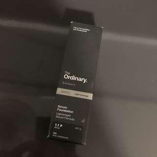 The ordinary colours - serum foundation (1.1p fair)