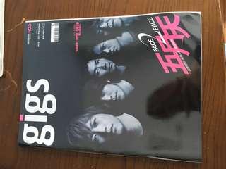 gigs 搖滾誌  NO.3  五月天 封面 mayday 雜誌