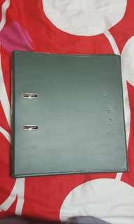 1003 Dark Green F4 Ring File (FPS-2266)