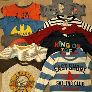 Preloved baby boys clothes
