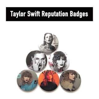 [PO] Taylor Swift Reputation Badges
