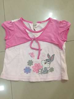 Free Preloved Baby girl top