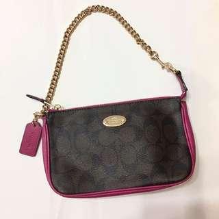 Coach chain bag 手袋 celine chloe ysl prada dior