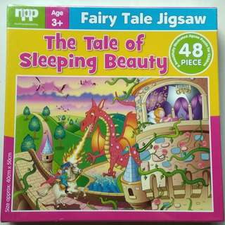 Fairy Tale Jigsaw Puzzle 48 pieces - The Tale of Sleeping Beauty