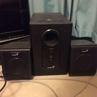 Wired Speaker with Bass 有線喇叭