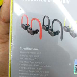 Awei true wireless + waterproof new earphone