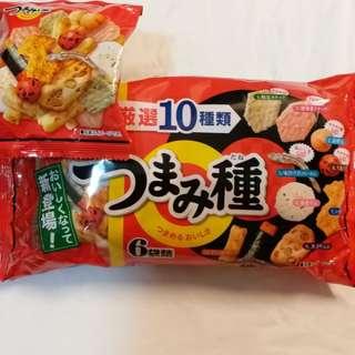 日本新登埸(10种脆脆口味)小食
