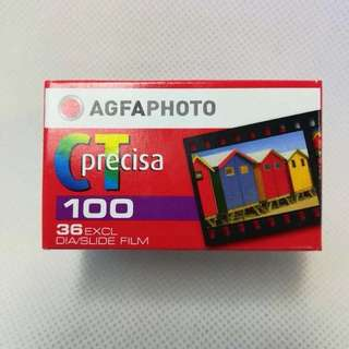 Agfa positive color film CT Precisa 100