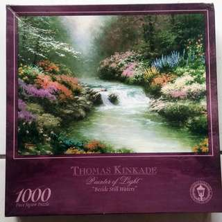 Jigsaw Puzzle 1000 pcs - Thomas Kinkade - Beside Still Waters
