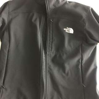 North face black shell jacket