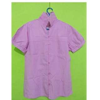 I04 Blouse ungu
