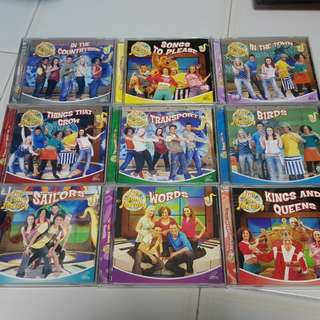 Fun Song Factory VCD Set of 13 Volumes