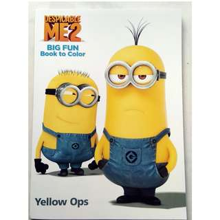 Big Coloring Book - Despicable Me 2 - Yellow Ops