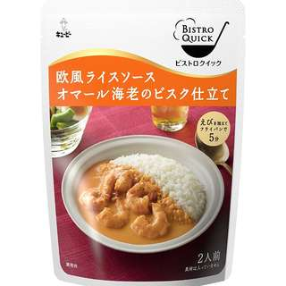 (全新訂購) 日本製造 Kewpie Bistro Quick 歐洲風蝦濃湯 245g (3 包裝)