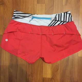 Size4 lululemon speed short
