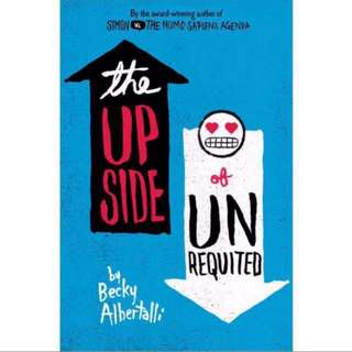 BN The Upside of Unrequited by Becky Albertalli