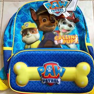 Kids Paw Patrol Back Pack