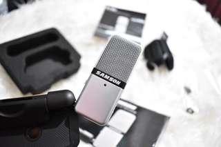 samson Go mic portable condenser microphone