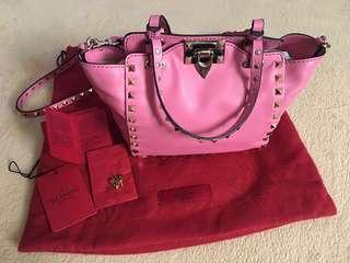 Valentino Rockstud Tote Bag Mini Size