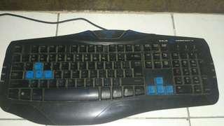 Keyboard Gaming Armageddon E-Blue Combatant-X