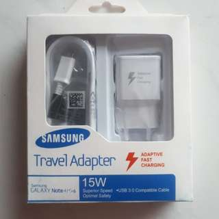 CHARGER SAMSUNG FAST CHARGING ORIGINAL 100% NOTE4 / S6 / S7
