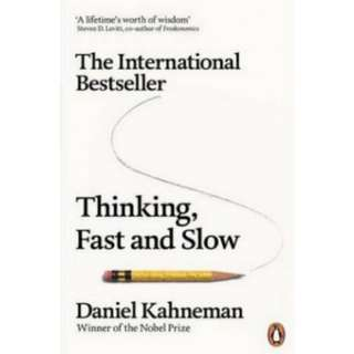 New Thinking, Fast and Slow by Daniel Kahneman