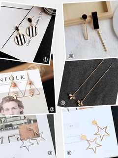 Fashion earrings (preorder)
