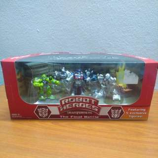 Robot Heroes Transformers Collectors Club