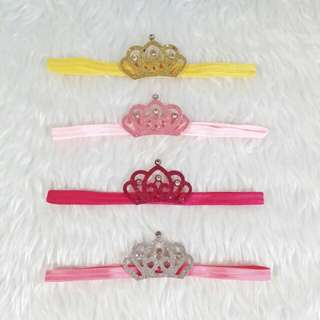 Mini crown headband