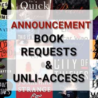 [E-BOOK] REGARDING REQUESTS AND UNLI-ACCESS