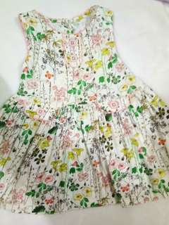 Next dress 18-24 mos vguc