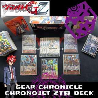 [WTS] Cardfight Vanguard - Gear Chronicle Chronojet ZTB Deck